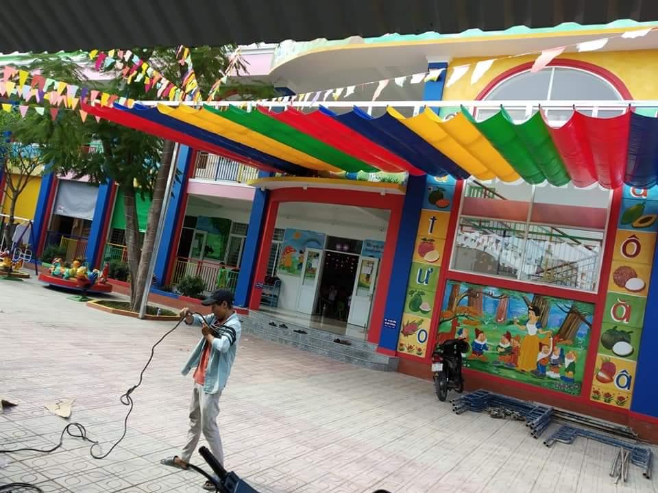 May Bạt Mái Che Xếp, Cung Cấp Vật Tư Mái Bạt Tại Biên Hòa Đồng Nai, Bạt Che Nắng Mưa Giá Rẻ.