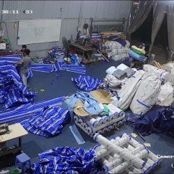 Xưởng Sản xuất, cung cấp may ép bạt mái kéo, bạt mái xếp, bạt che nắng theo yêu cầu tại Cần Thơ
