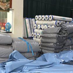 Xưởng Sản xuất, cung cấp may ép bạt mái kéo, bạt mái xếp, bạt che nắng theo yêu cầu tại Hải Phòng