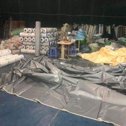 Xưởng Sản xuất, cung cấp may ép bạt mái kéo, bạt mái xếp, bạt che nắng theo yêu cầu tại Phú Yên