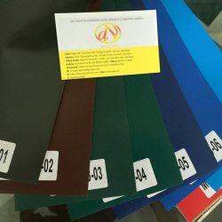 May bạt mái kéo, mái xếp di động vải bạt Hàn Quốc